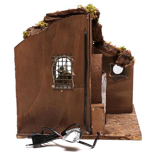 Moving carpenter 12 cm for nativity scene 6