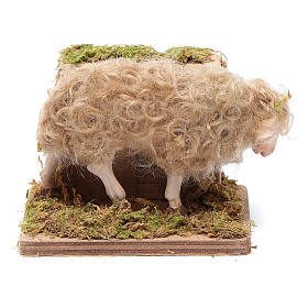 Neapolitan Nativity Scene: Moving sheep 24 cm for Neapolitan nativity scene