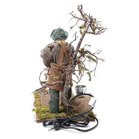 Agriculteur mouvement 24 cm crèche napolitaine s4