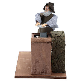 Animated Nativity Scenes: Knife grinder movement for 12 cm nativity scene