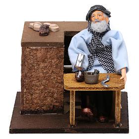 Cobbler movement for 12 cm nativity scene s5