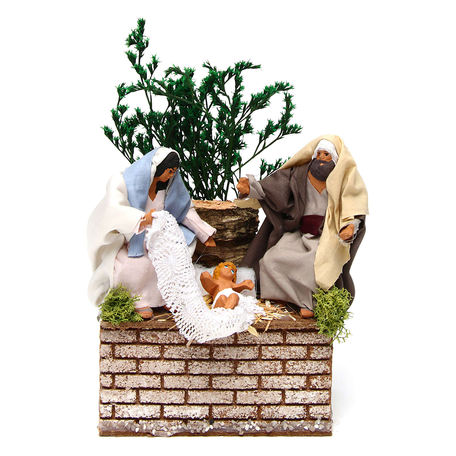Holy Family movement for 12 cm Nativity scene 3