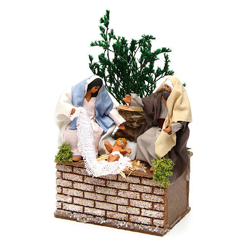 Holy Family movement for 12 cm Nativity scene 2