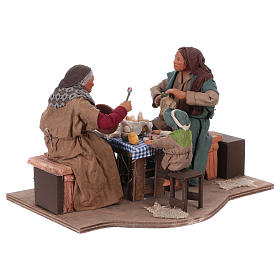 Moving family with child 24 cm for Neapolitan Nativity Scene s4
