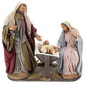 Presépio Napolitano: Natividade clássica movimento para presépio napolitano com figuras de 30 cm de altura média