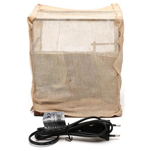 Sarto con tenda in movimento presepe napoletano 12 cm 5