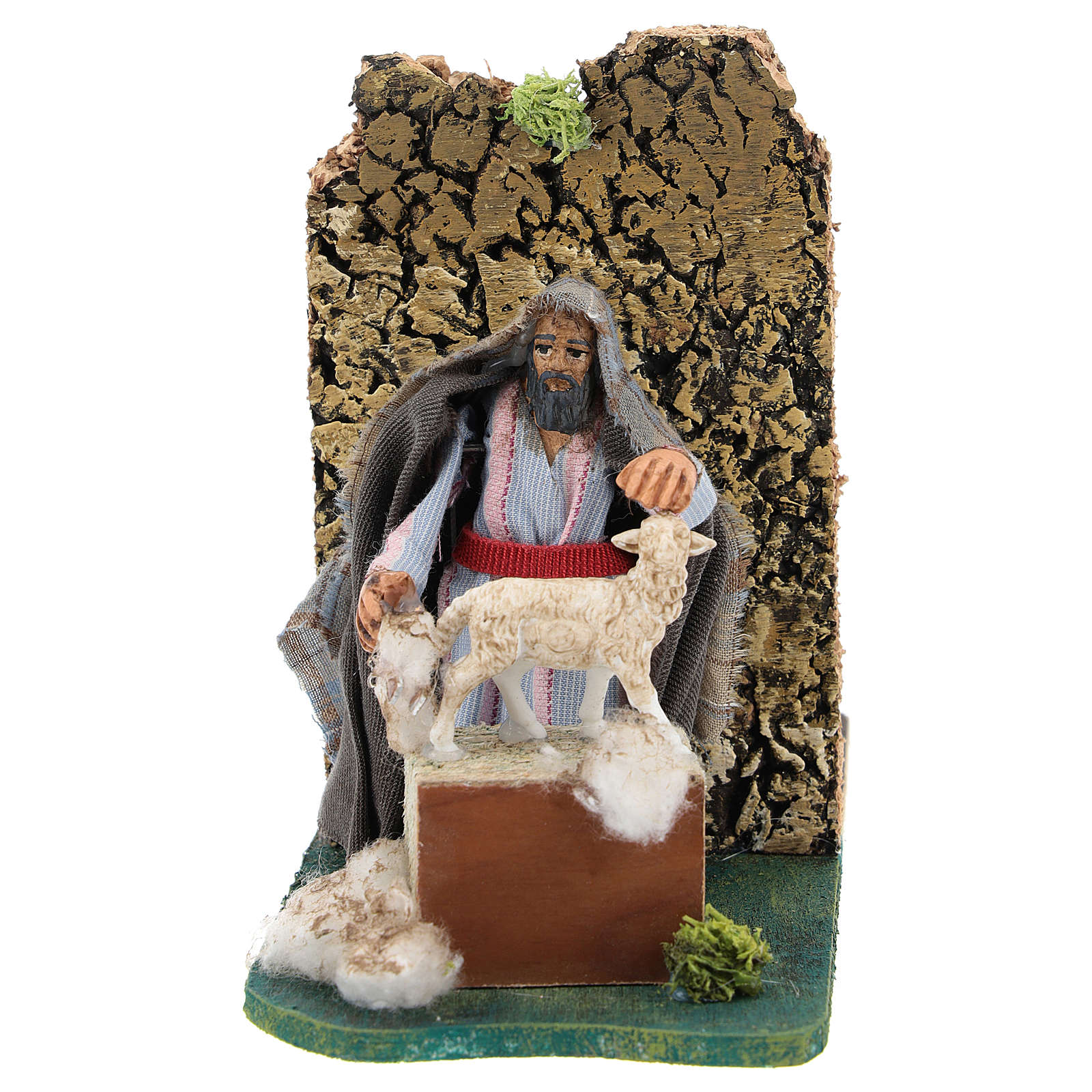 Moving shearer for Neapolitan Nativity Scene 7 cm 4
