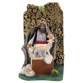 Moving shearer for Neapolitan Nativity Scene 7 cm s1