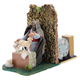 Moving shearer for Neapolitan Nativity Scene 7 cm s2
