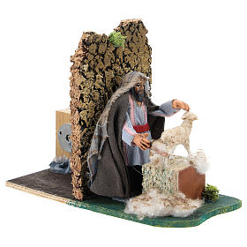 Moving shearer for Neapolitan Nativity Scene 7 cm s3