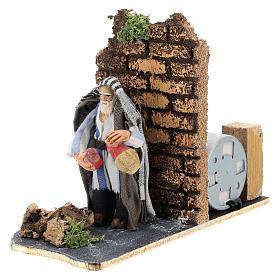 Moving innkeeper for Neapolitan Nativity Scene 7 cm s2