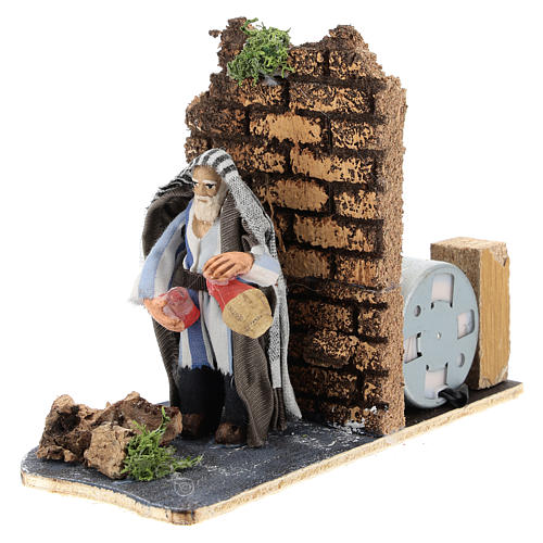 Moving innkeeper for Neapolitan Nativity Scene 7 cm 2