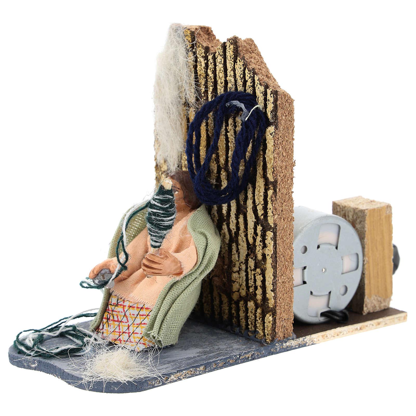 Moving spinner for Neapolitan Nativity Scene 7 cm 4
