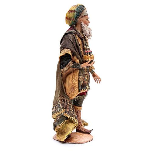 Rey mago blanco terracota 30cm, Angela Tripi 4