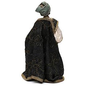 Nativity scene figurine, king Melchior 30 cm, Angela Tripi s5