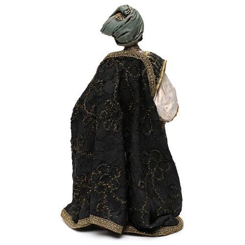 Nativity scene figurine, king Melchior 30 cm, Angela Tripi 5