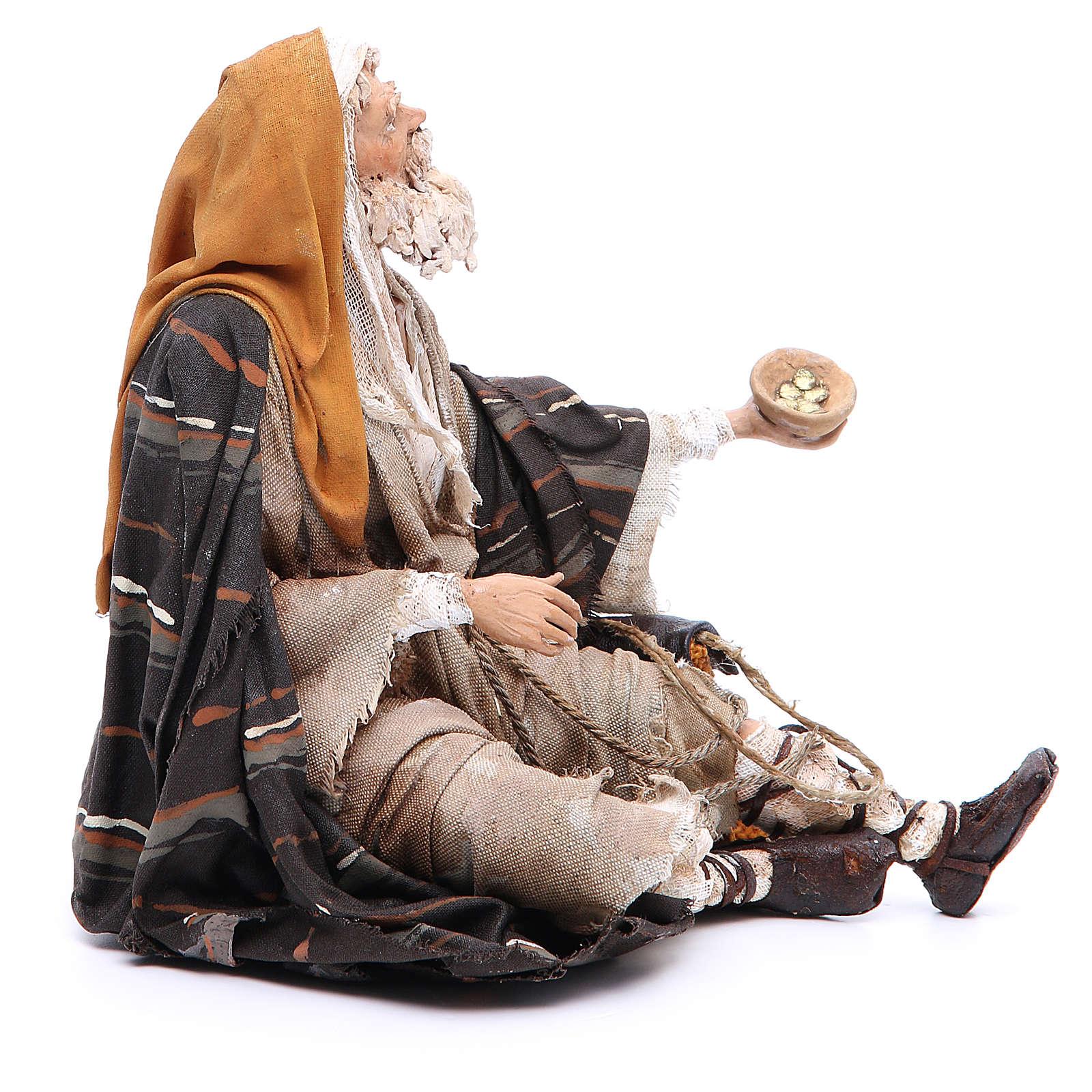 Mendicante 30 cm Angela Tripi terracotta 4