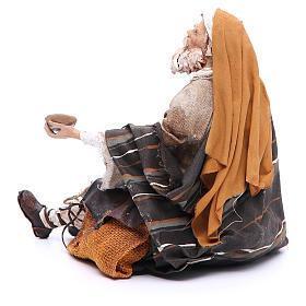 Mendicante 30 cm Angela Tripi terracotta s3