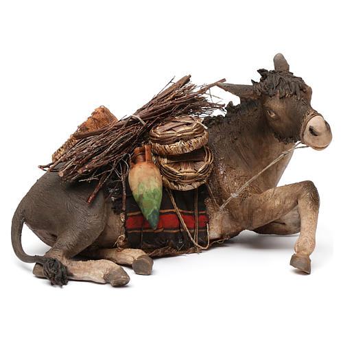 Donkey, 30cm in terracotta by Angela Tripi 1