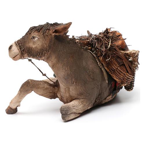 Donkey, 30cm in terracotta by Angela Tripi 3