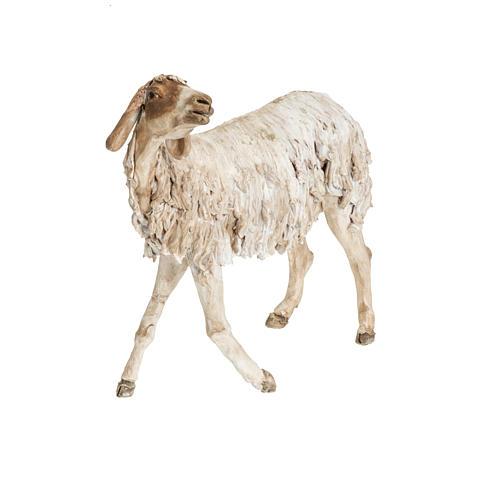 Nativity scene figurine, sheep 30 cm, Angela Tripi 3