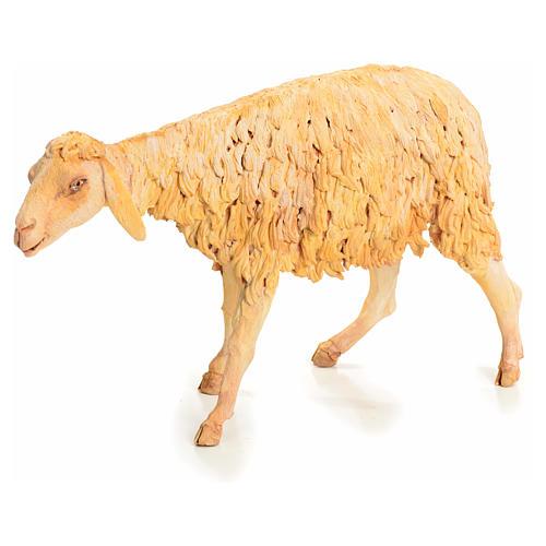 Nativity scene figurine, sheep 30 cm, Angela Tripi 9