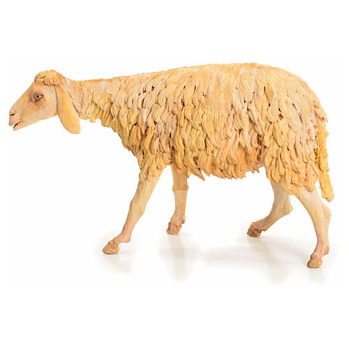 Nativity scene figurine, sheep 30 cm, Angela Tripi 10