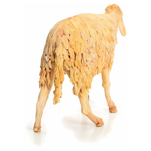 Nativity scene figurine, sheep 30 cm, Angela Tripi 11
