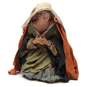 Natività 13 cm Angela Tripi terracotta s3