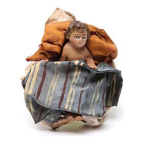 Natività 13 cm Angela Tripi terracotta s4