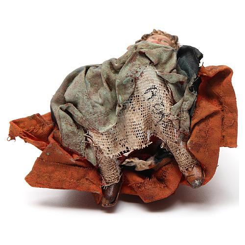 Natività 13 cm Angela Tripi terracotta 7