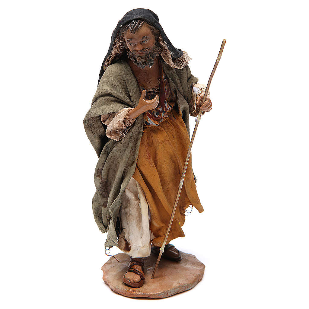 Nativity scene figurines, Holy Family 13cm, Angela Tripi 4