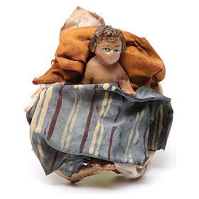 Nativity scene figurines, Holy Family 13cm, Angela Tripi s4