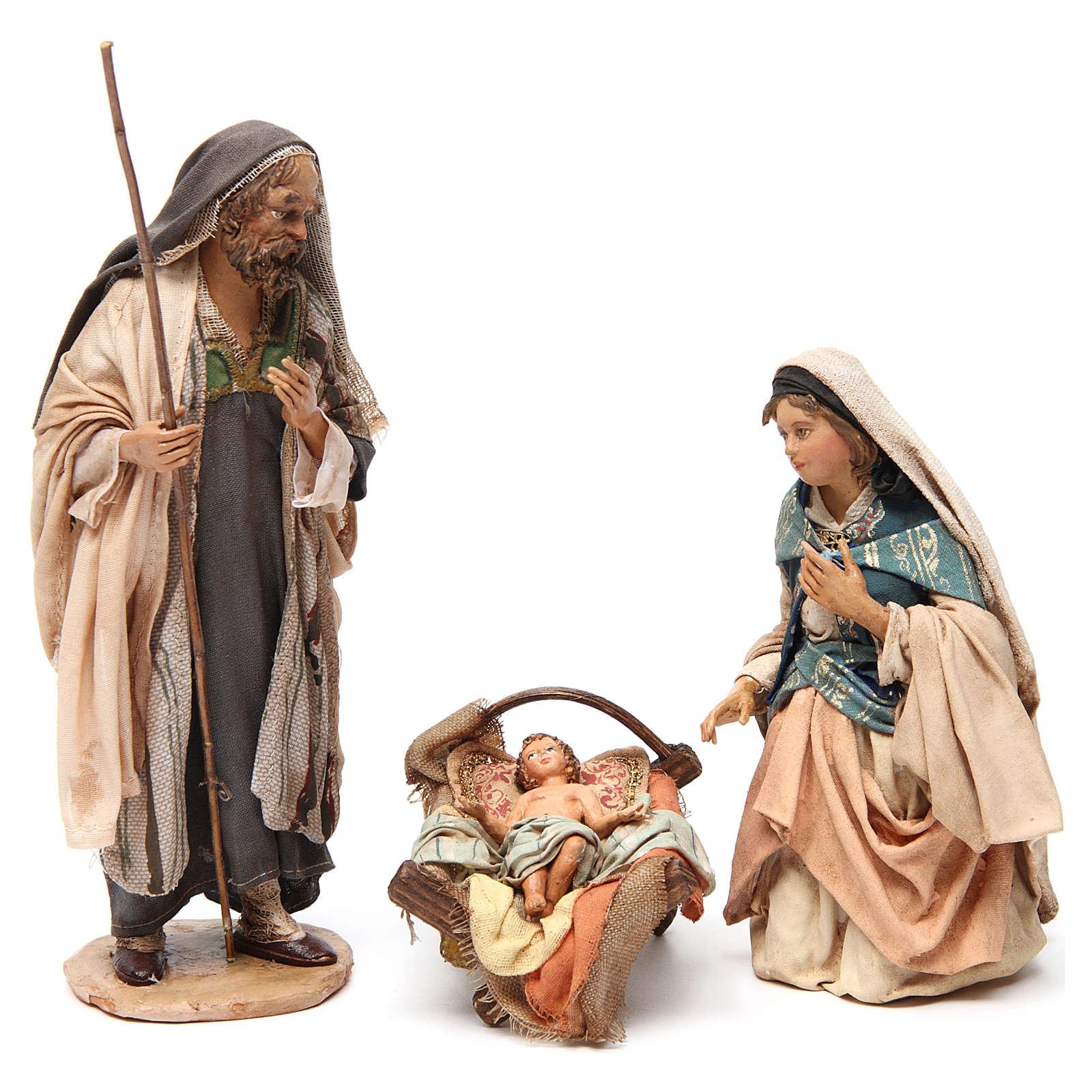 Natividad 18cm de terracota Angela Tripi 4