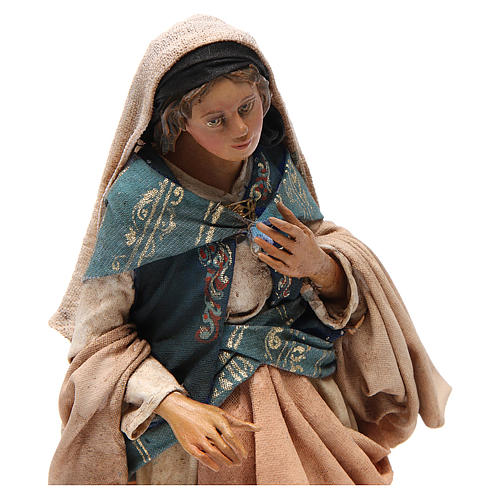 Natividad 18cm de terracota Angela Tripi 2