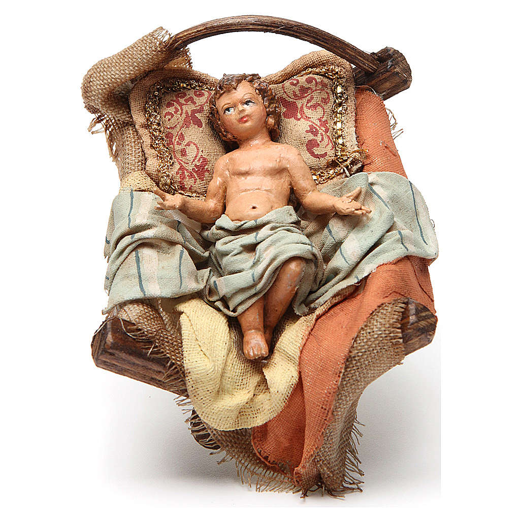 Sainte famille 18 cm terre cuite Angela Tripi 4