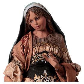 Sainte famille 18 cm terre cuite Angela Tripi s3