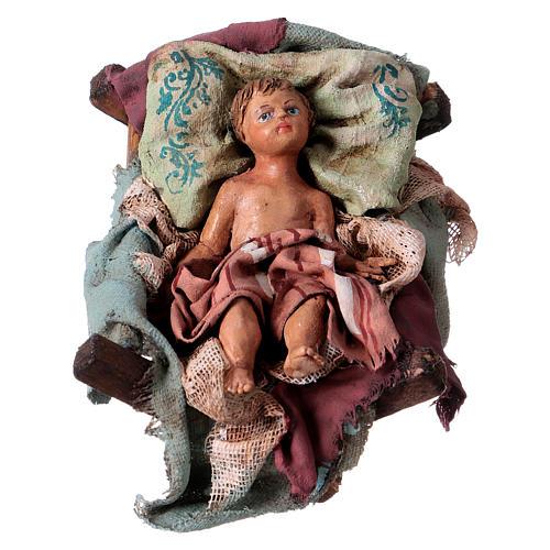 Sainte famille 18 cm terre cuite Angela Tripi 2