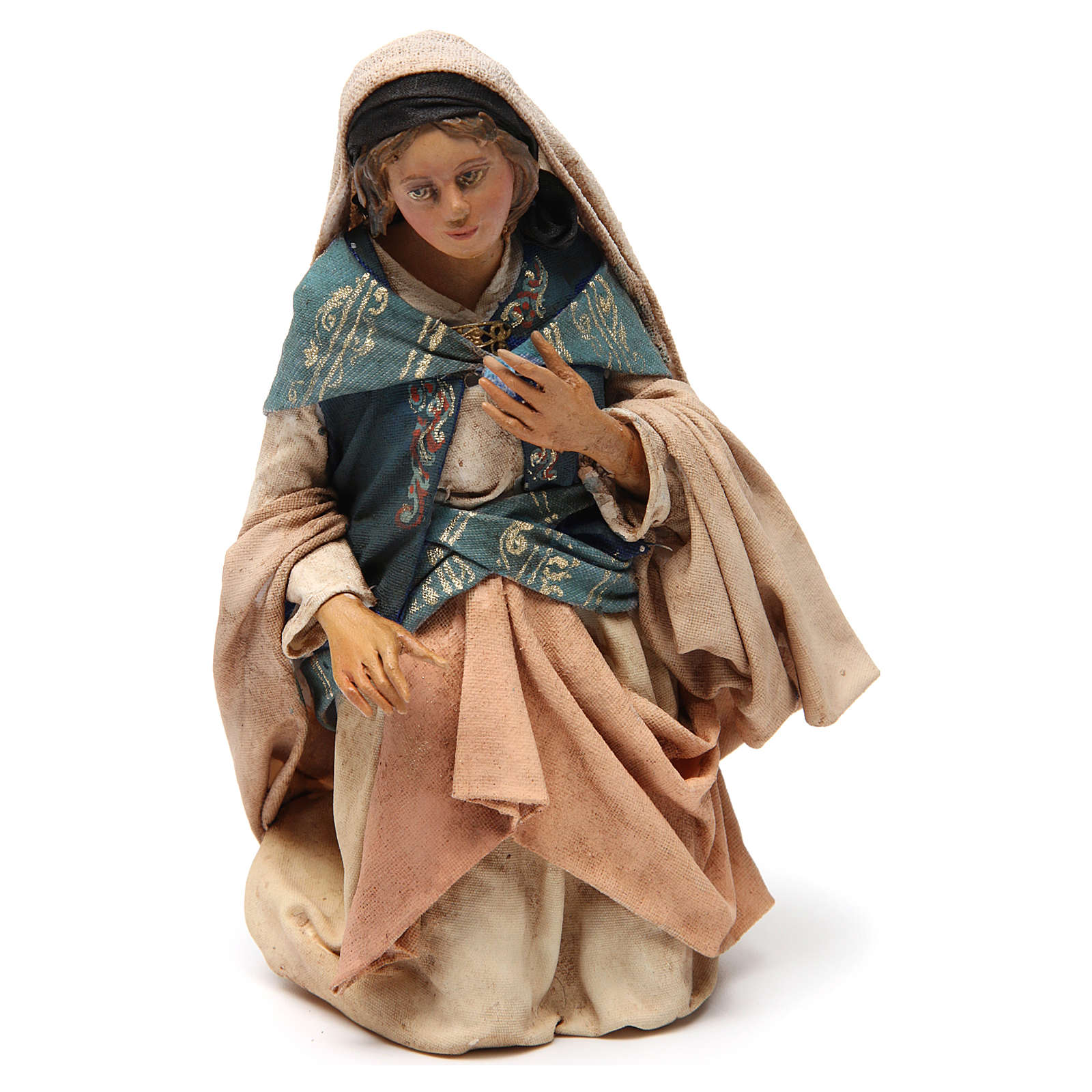 Natività 18 cm Angela Tripi terracotta 4