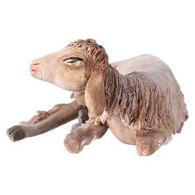 Nativity scene terracotta figurine, sheep 18cm, Angela Tripi s2