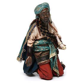 Rey Mago negro 18cm Angela Tripi terracota s1