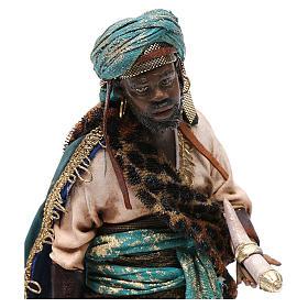 Rey Mago negro 18cm Angela Tripi terracota s2