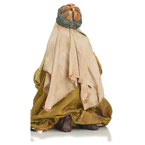 Nativity scene, Ethiopian Wise Man 18cm, Angela Tripi 9