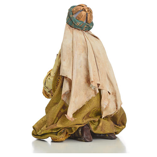 Nativity scene, Ethiopian Wise Man 18cm, Angela Tripi 13