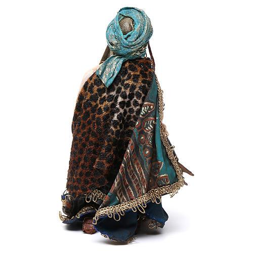 Nativity scene, Ethiopian Wise Man 18cm, Angela Tripi 5