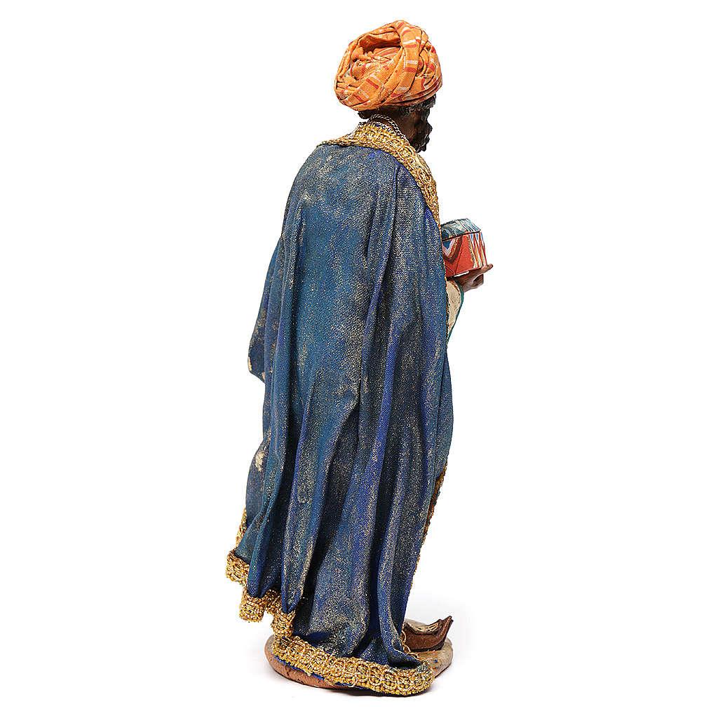 Re Magio mulatto 18 cm Angela Tripi terracotta 4