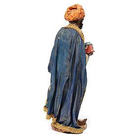 Re Magio mulatto 18 cm Angela Tripi terracotta s4