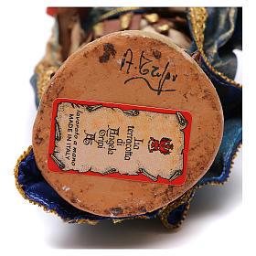 Re Magio mulatto 18 cm Angela Tripi terracotta s6