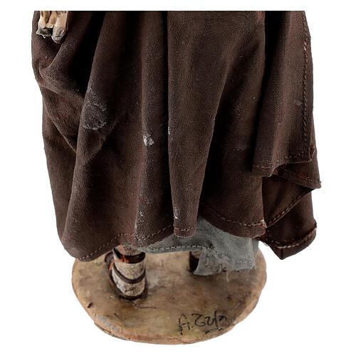Buon pastore 18 cm Angela Tripi terracotta 6