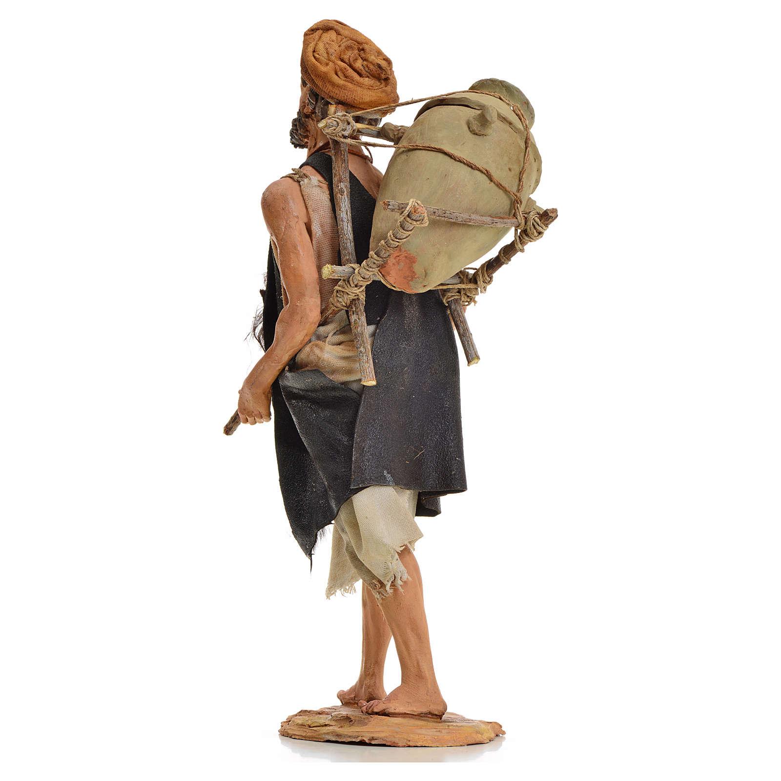 Pastore con anfora 18 cm Angela Tripi terracotta 4